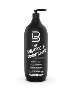LEV3 2 in 1 Shampoo 1000ml