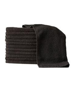 BLEACHPROOF TOWELS BLACK 12pk