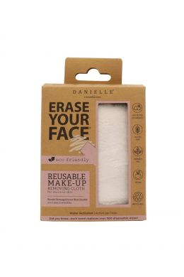 Erase Your Face Eco Cloth White